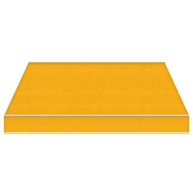 Tenda da sole a bracci estensibili manuale TEMPOTEST PARA' L 2.4 x H 2 m Cod. 12 giallo