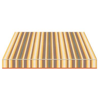 Tenda da sole a bracci estensibili manuale TEMPOTEST PARA' L 300 x H 210 cm blu, marrone, giallo, grigio Cod. 1243