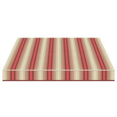 Tenda da sole a bracci estensibili manuale TEMPOTEST PARA' L 2.4 x H 2 m Cod. 5010/11 beige, rosso, marrone