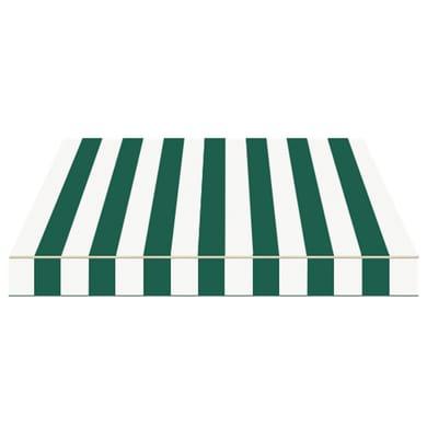 Tenda da sole a bracci estensibili manuale TEMPOTEST PARA' L 300 x H 210 cm avorio, verde Cod. 428