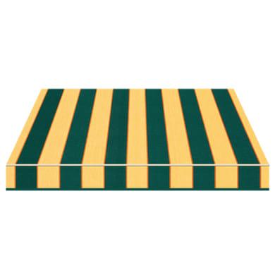 Tenda da sole a bracci estensibili manuale TEMPOTEST PARA' L 300 x H 210 cm verde, giallo, arancione Cod. 484/3