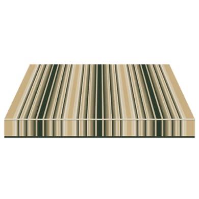 Tenda da sole a bracci estensibili manuale TEMPOTEST PARA' L 300 x H 210 cm viola, beige, avorio Cod. 5000/7