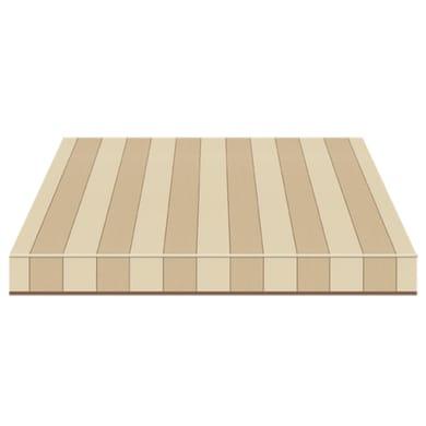 Tenda da sole a bracci estensibili manuale TEMPOTEST PARA' L 300 x H 210 cm beige, avorio, marrone Cod. 5009/1