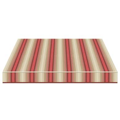 Tenda da sole a bracci estensibili TEMPOTEST PARA' L 3 x H 2 m Cod. 5010/11 beige, rosso, marrone