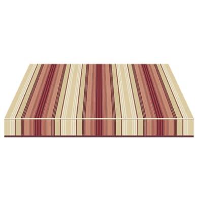 Tenda da sole a bracci estensibili TEMPOTEST PARA' L 3 x H 2 m Cod. 5011/11 marrone, beige, rosso, bordeaux