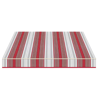 Tenda da sole a bracci estensibili manuale TEMPOTEST PARA' L 300 x H 210 cm rosso, grigio, avorio Cod. 5167/11