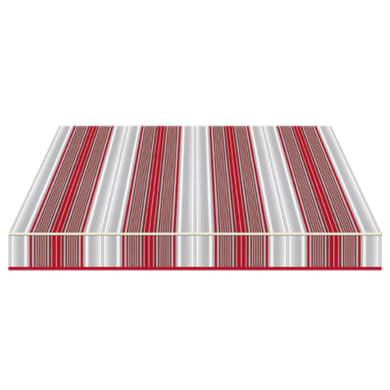 Tenda da sole a bracci estensibili TEMPOTEST PARA' L 3 x H 2 m Cod. 5167/11 rosso, grigio, avorio