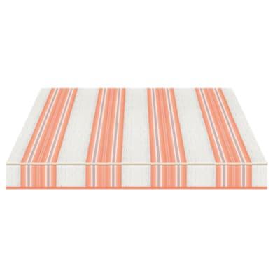 Tenda da sole a bracci estensibili manuale TEMPOTEST PARA' L 300 x H 210 cm arancione, azzurro, avorio Cod. 5226/26