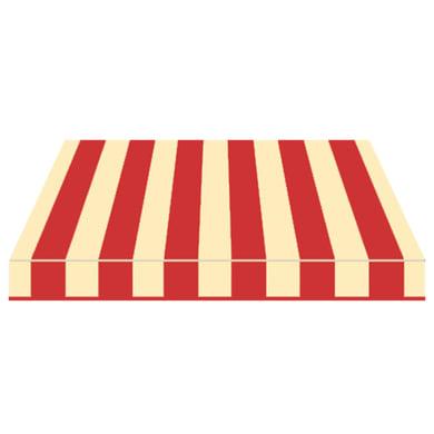 Tenda da sole a bracci estensibili manuale TEMPOTEST PARA' L 300 x H 210 cm beige, rosso Cod. 61