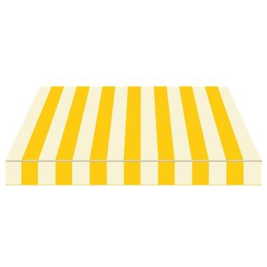 Tenda da sole a bracci estensibili TEMPOTEST PARA' L 3 x H 2 m Cod. 810 avorio e giallo