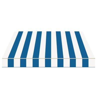 Tenda da sole a bracci estensibili manuale TEMPOTEST PARA' L 350 x H 210 cm avorio, blu Cod. 419