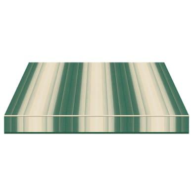 Tenda da sole a bracci estensibili manuale TEMPOTEST PARA' L 350 x H 210 cm verde, beige Cod. 5001/1