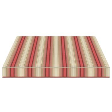 Tenda da sole a bracci estensibili TEMPOTEST PARA' L 3.5 x H 2 m Cod. 5010/11 beige, rosso, marrone