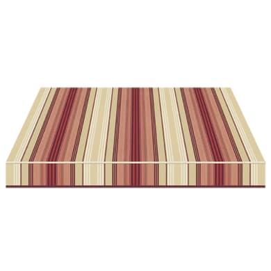 Tenda da sole a bracci estensibili manuale TEMPOTEST PARA' L 350 x H 210 cm marrone, beige, rosso, bordeaux Cod. 5011/11