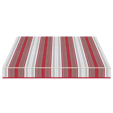 Tenda da sole a bracci estensibili manuale TEMPOTEST PARA' L 350 x H 210 cm rosso, grigio, avorio Cod. 5167/11