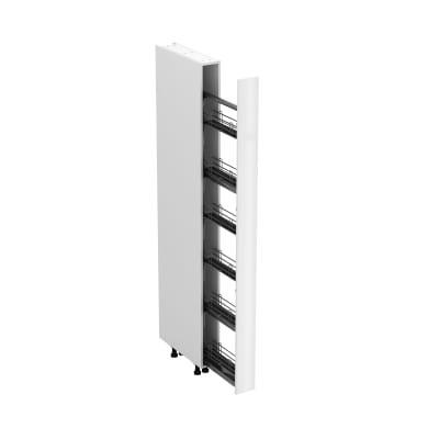 Colonna Siviglia bianco L 15H 225 x P 58 cm