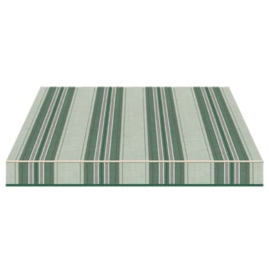 Tenda da sole a bracci estensibili manuale TEMPOTEST PARA' L 350 x H 210 cm verde, grigio, avorio Cod. 5347/62