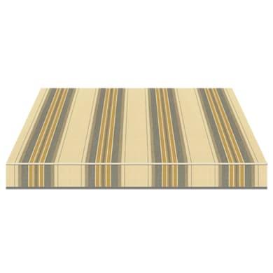 Tenda da sole a bracci estensibili manuale TEMPOTEST PARA' L 350 x H 210 cm beige, giallo, grigio Cod. 5347/58