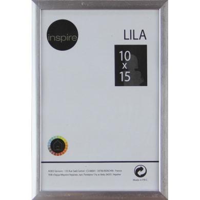 Cornice INSPIRE Lila argento per foto da 10x15 cm