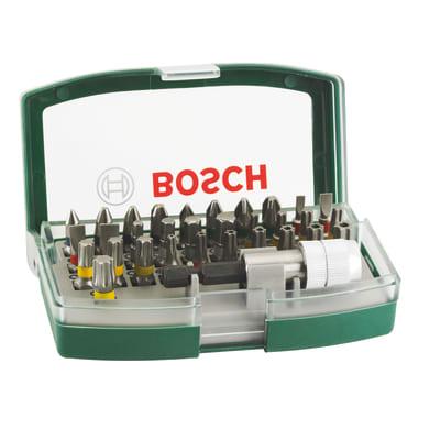 Set di inserti per avvitatori BOSCH 32 pezzi