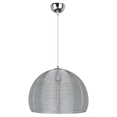 Lampadario Moderno Bering alluminio in metallo, D. 35 cm, INSPIRE