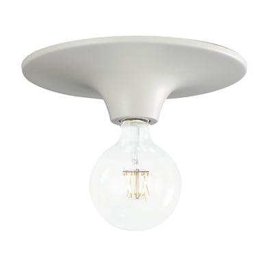 Plafoniera Vesus bianco, in ferro, diam. 30 cm, E27 MAX60W IP20