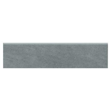 Battiscopa Extra H 8 x L 33.3 cm grigio