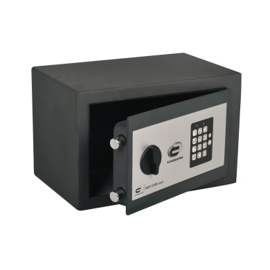 Cassaforte con codice elettronico STANDERS Easy Code Mini SFT-20ENG da fissare L 31 x P 20 x H 20 cm