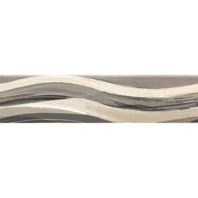 Battiscopa Ondulato H 8 x L 33.3 cm beige