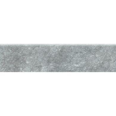 Battiscopa Rossena H 8 x L 33.3 cm grigio
