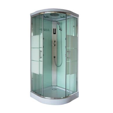 Cabina doccia quadrato ALLIKI 90 x 90 cm