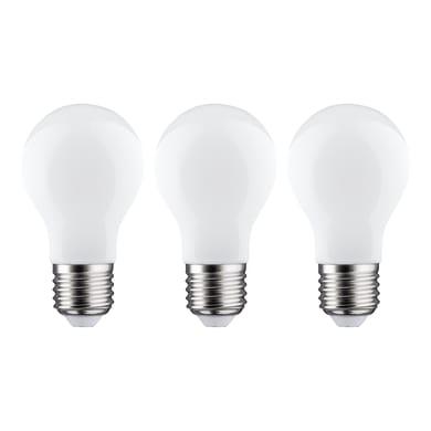 Lampadina LED filamento E27, Goccia, Opaco, Bianco, Luce fredda, 11W=1521LM (equiv 100 W), 360° , LEXMAN , set di 3 pezzi