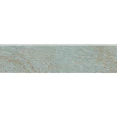 Battiscopa Rossena Almond H 8 x L 33.3 cm grigio e beige