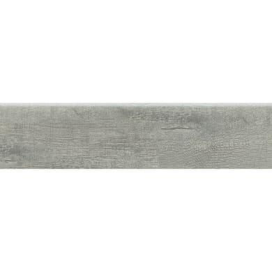 Battiscopa Wood Cocco H 8 x L 33.3 cm blu e grigio