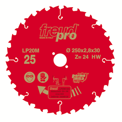 Lama per sega circolare FREUD Ø 190 mm 12 denti