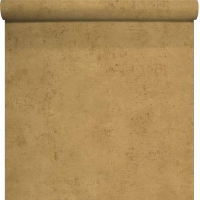 Carta da parati Couleurs&Matieres Acciaio giallo, 53 cm x 10.05 m