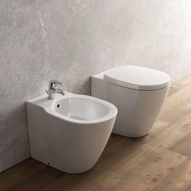 Coppia sanitari pavimento filo muro Idealsmart IDEAL STANDARD