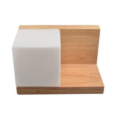Applique Utena in legno, 24x15 cm, LED integrato 5W 450LM IP44 INSPIRE