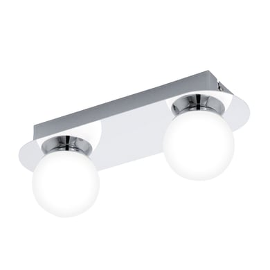 Barra di faretti Mosiano cromo, in metallo, LED integrato 3.3W 680LM IP44 EGLO