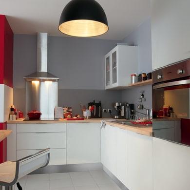 Cucina in kit DELINIA soft bianco