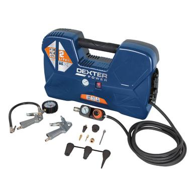 Compressore DEXTER POWER 1.5 hp 6 bar 2 L