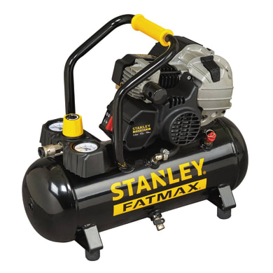 Compressore ad olio STANLEY FATMAX HYBD404STF509 , 2 hp, 10 bar, 12 L