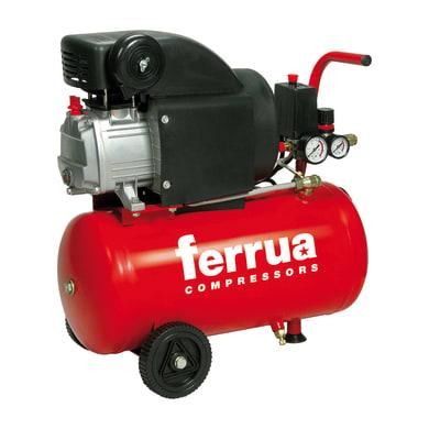 Compressore FERRUA RC2/24 2 hp 8 bar 24 L