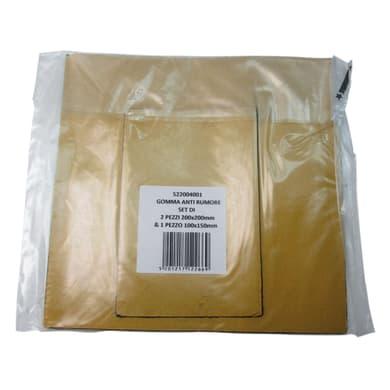 Protezione sottolavello Set gomma anti rombo plastica