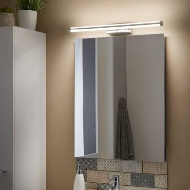 Applique moderno Up&Down LED integrato cromo, in metallo, 60.8x60.8 cm, INSPIRE