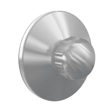 Gancio Remix/Neo cromo satinato cromo spazzolato in plastica