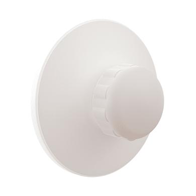 Gancio a muro Remix/Neo bianco lucido in plastica