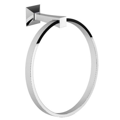 Porta salviette ad anello Firenze cromo cromato L 18 cm