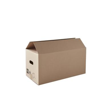 Set di 10 pezzi, Scatola da imballaggio 2 onde H 30 x L 60 x P 30 cm