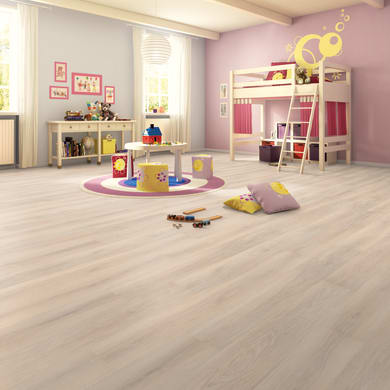 Pavimento laminato Cipria Sp 8 mm marrone